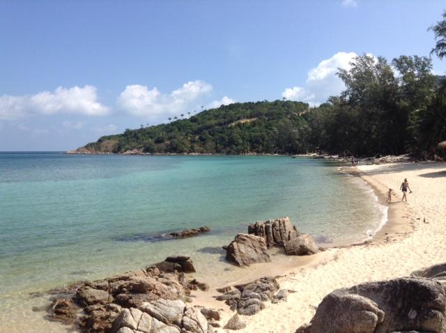 stunning beach in Thailand