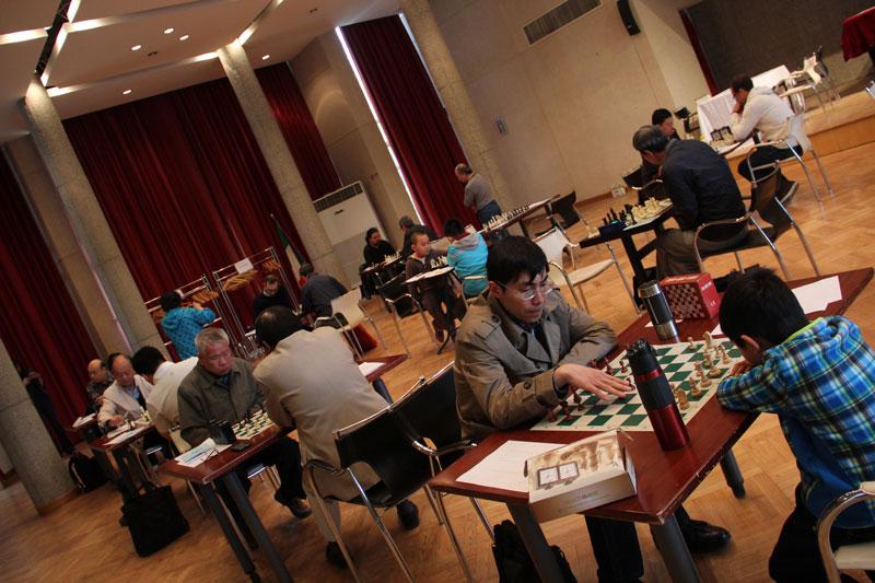 Chess at the italian embassy