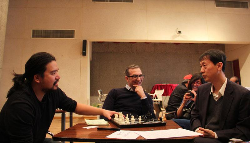 Luc, Davide and Li Wenliang
