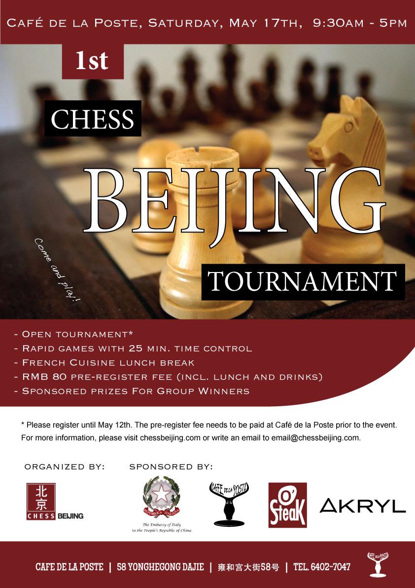 organized by Chess Beijing