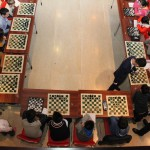 GM Yu Yangyi during a simul game